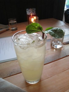 Apple & Fenugreek, Lime, Mint, Denman Bitters, Gingerbeer