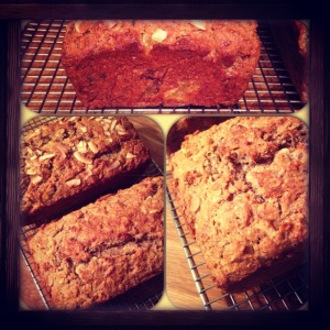 Aloha and Almond Banana Breads by Kitchenette Finds