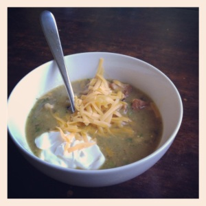 Green Chili by Kitchenette Finds