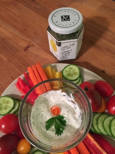 Epicure's Lemon Dilly Dip with vegetables