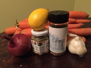 Ravishing Roasted Carrot Soup Ingredients